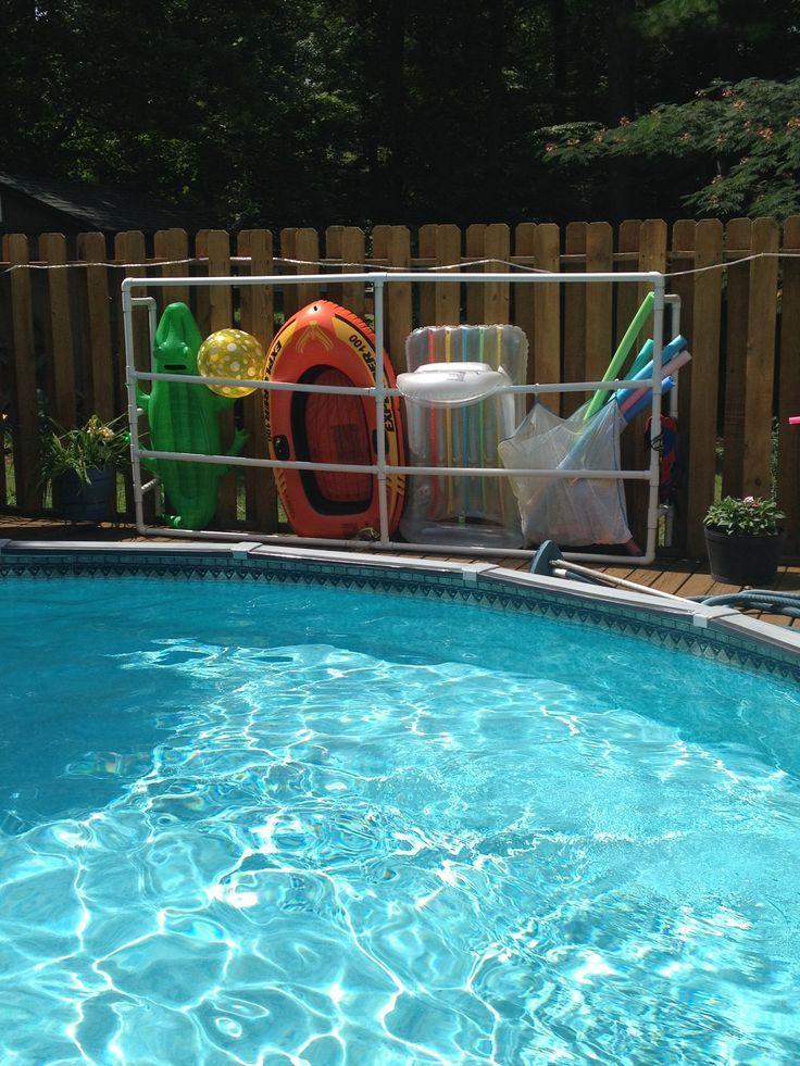 1000 Ideas About Pool Float Storage On Pinterest Pool