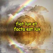 Fiat lux et facta est lux