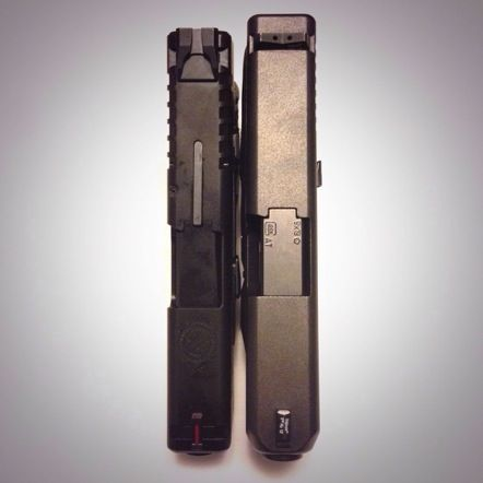 Glock 26 vs. Springfield XDs 9 – Slide Comparison | From ...