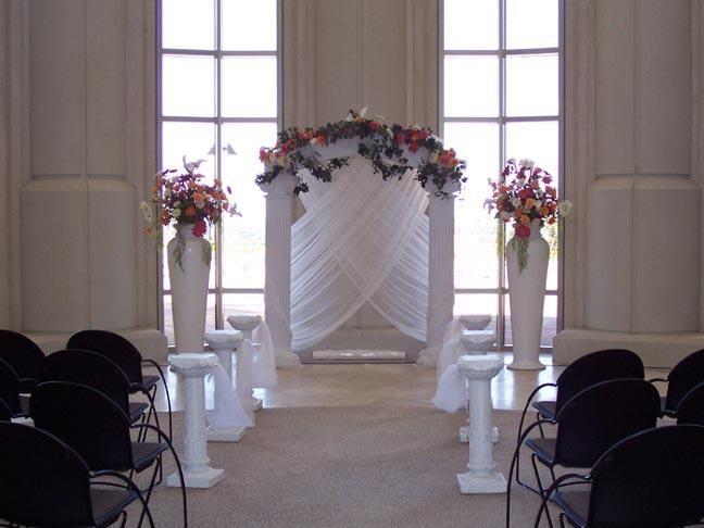 Best 25+ Wedding arch tulle ideas on Pinterest | Simple wedding ...