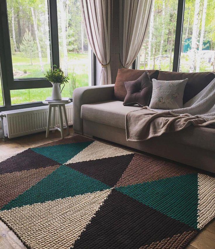 #inspiracao de Domingo por ela, @belkin.home ♥️ Perfeição!!! #fiodemalha #crochê