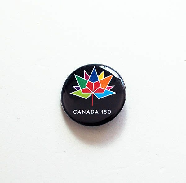Canada 150 Pin, Canada 150 logo, Pinback buttons, Canada Day, I Love Canada, Maple Leaf Pin, Canada Flag Pin, Canada 150 birthday (7477) by KellysMagnets on Etsy