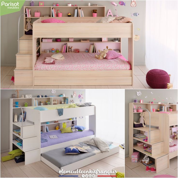 17 Best Images About Comfortably Bedroom Decor With: 17 Best Ideas About Bunk Beds For Girls On Pinterest