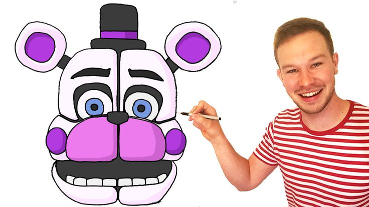 How to draw Funtime Freddy FNaF Sister Location Preview | How to ...