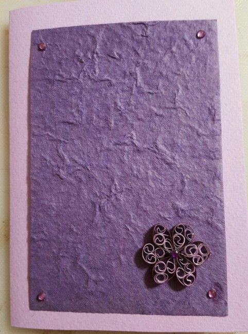Purple on lilac
