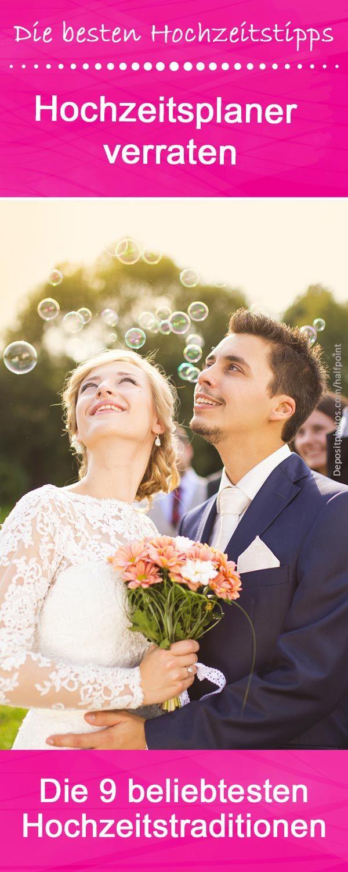Welche Hochzeitstraditionen und schöne Bräuche auch heute noch im Trend sind verraten euch erfahrene Hochzeitsplaner... © Depositphotos.com/halfpoint #hochzeitstraditionen #bräuche #weddingbubbles