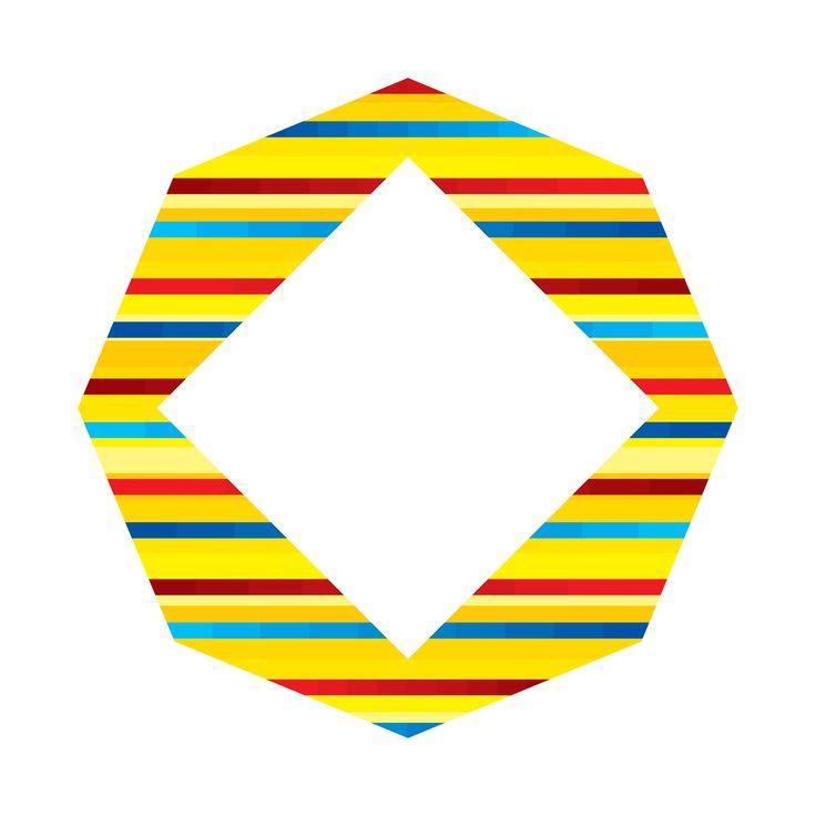 """""""pintapintar"""" by Amel Segré. Exciz6, la dimensión geométrica. #abstrac #art #conceptual"""