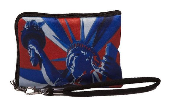 Statue of Libery USA Wristlet by Salvador Kitti  by SalvadorKitti, $9.99