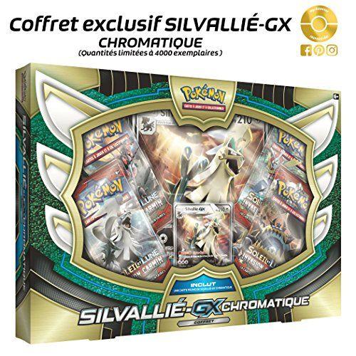 Coffret Pokemon – Silvallie GX Chromatique 210PV (en Français): Ce Coffret POKEMON en francais contient : 1 carte géante - 1 carte…