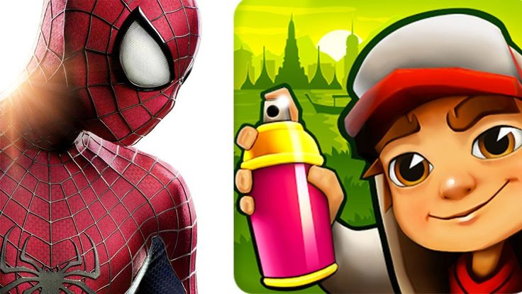 Subway Surfers Amsterdam vs Spider-Man Unlimited - best android ios mobi...
