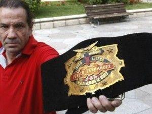 Fallece Perico Fernández, excampeón mundial de boxeo