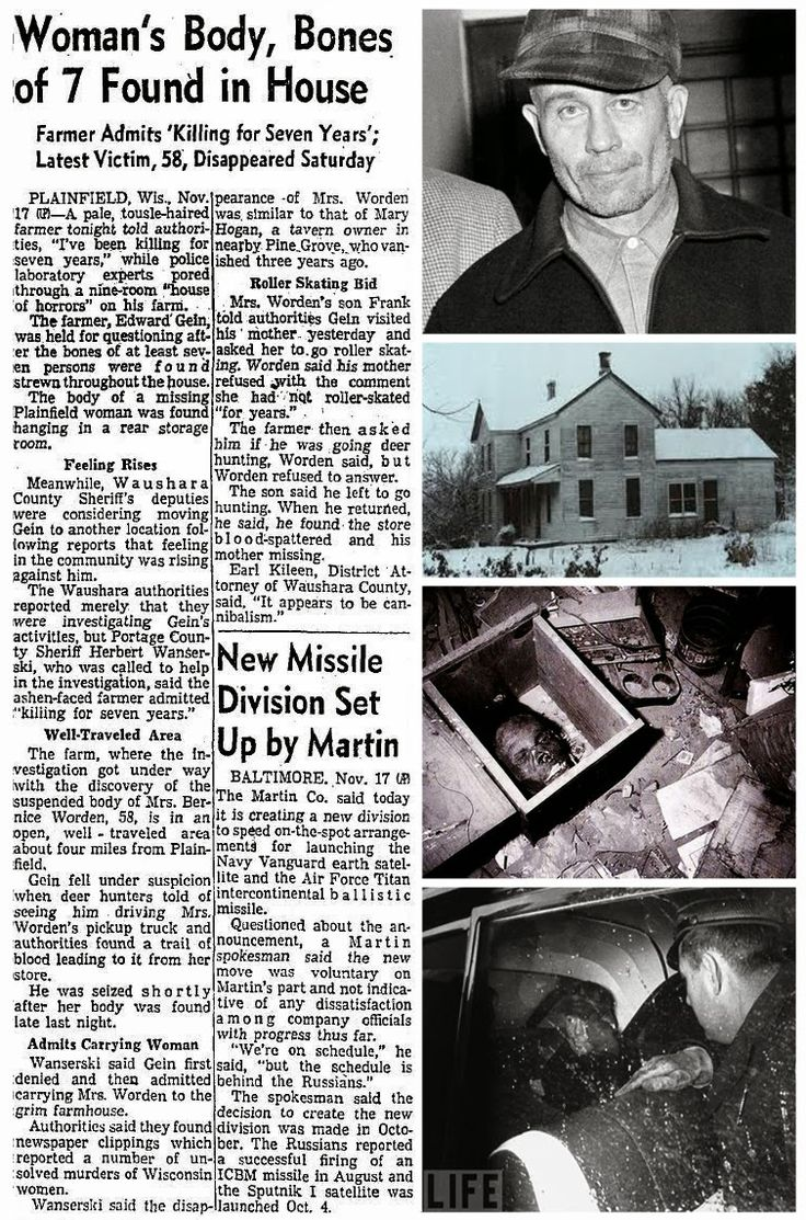 the truth about ed gein Ed, they knew, was obsessed with the macabre and had probably bought the artifacts at some halloween store in lacrosse it was only later that the dreadful truth was revealed, only later that they learned about the dark deeds that had been committed on the gein farm.