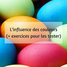 Voici quelques ressources autour des couleurs, leur influence sur notre état psychologique ainsi que des exercices pour en tester les effets (pour les enfants et les adultes).
