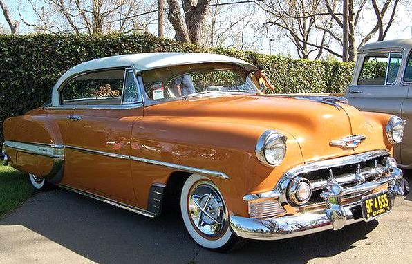 1953 Chevrolet Bel Air Did You Know The Frame Under This Model Is The Same Used On The 53 To 57 Corvette Chevrolet Bel Air Dream Cars Chevy Bel Air