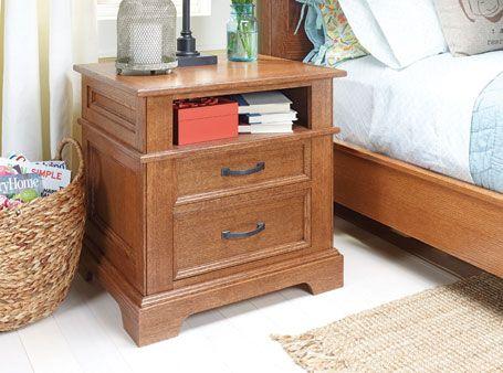 Oak Nightstand Woodsmith Plans Furniture Plans Pinterest Oak