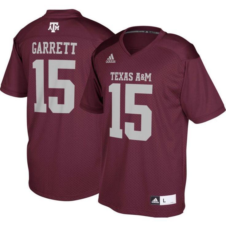 adidas Men's Myles Garrett Texas A&M Aggies #15 Maroon Replica College Alumni Jersey, Size: XL, Team