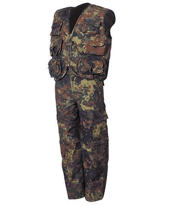MFH Kinder-Anzug, flecktarn  mehr Infos auf:  www.Guntia-Militaria-Shop.de