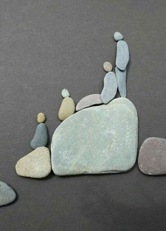 Amazing Examples of Pebble Art                                                                                                                                                                                 More