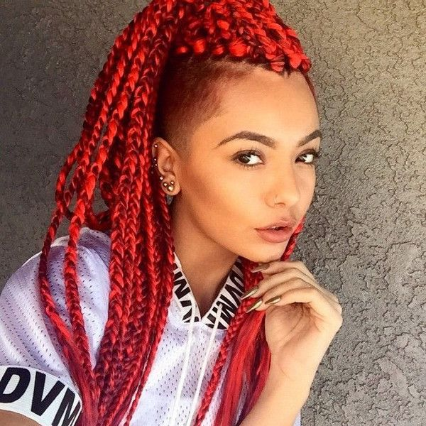 576 best braided protective styles images on pinterest 15 women with braid extensions styles who are not afraid of a little pmusecretfo Images
