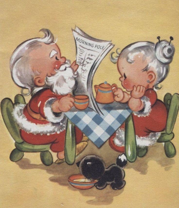 .Mr. & Mrs. Claus