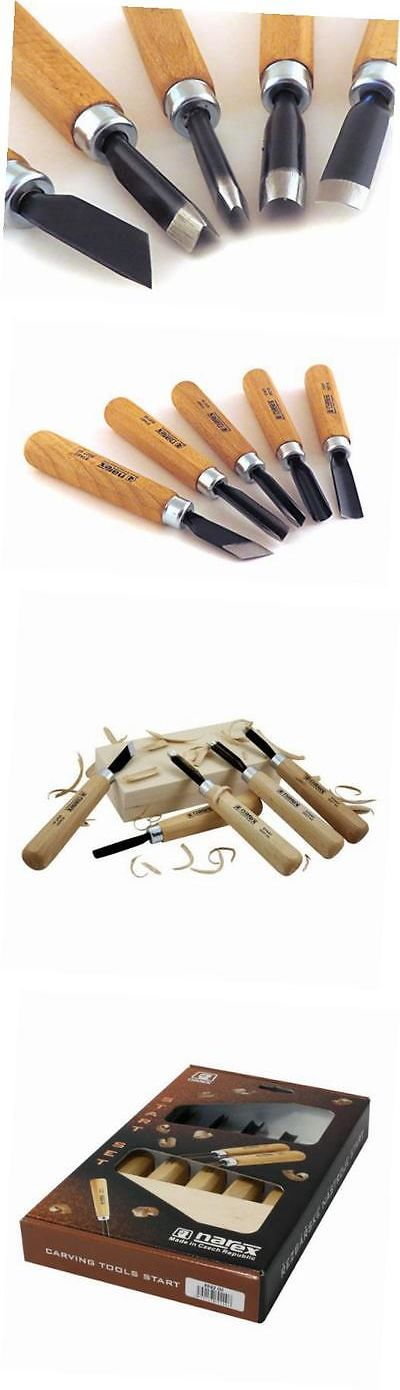 Wood Carving Hand Tools 160677: 5 Piece Set Starter Carving Chisels 3 Gouges, V Tool And Double Bevel Skew -> BUY IT NOW ONLY: $55.59 on eBay!