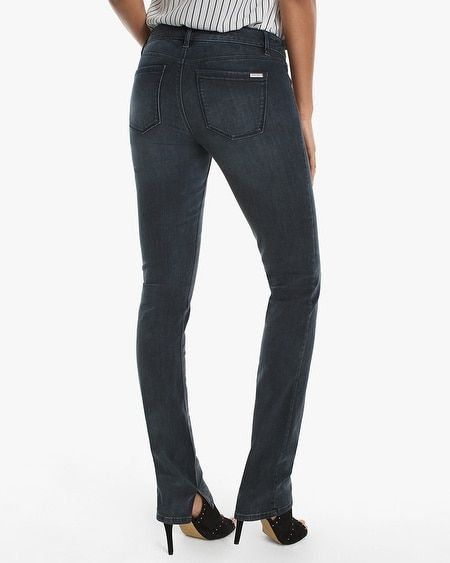 Women's Slit Hem Slim Jeans by White House Black Market