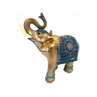 Adorno De Mesa Elefante De Poliresina Decore - 90134234
