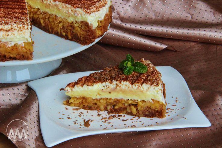 Dnes jsem ze dvou různých receptů udělala na oslavu tento koláč nebo dort, jak chcete :-) Je velmi vláčný a šťavnatý, takže ti, kteří nem...