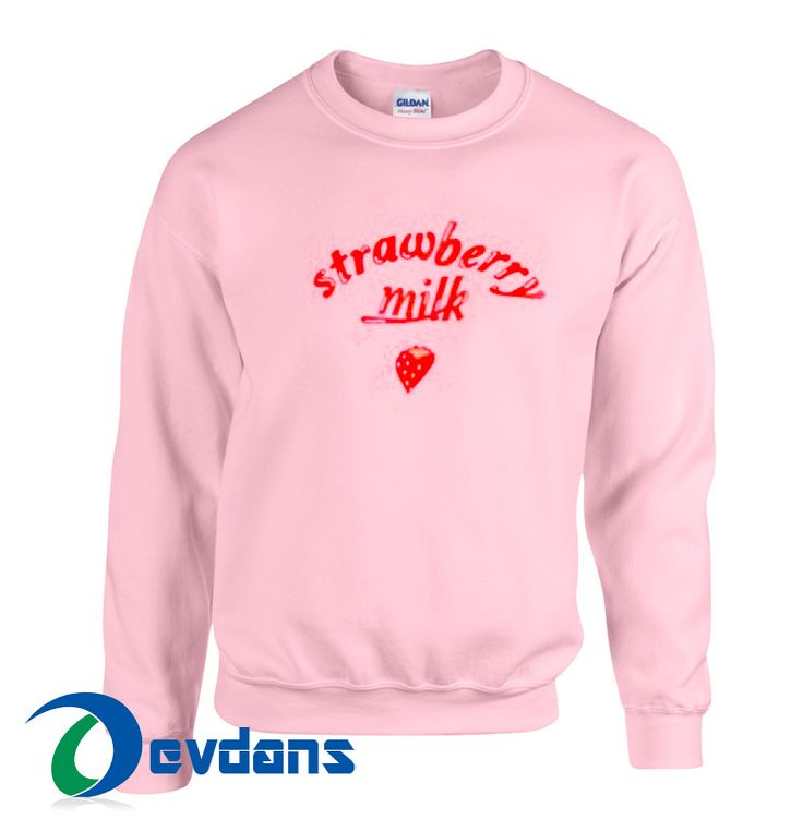 Like and Share if you want this  Strawberry Milk Sweatshirt Unisex Adults Size S to 3XL     Tag a friend who would love this!     $23.99    Buy one here---> https://www.devdans.com/product/strawberry-milk-sweatshirt-unisex-adults-size-s-3xl/