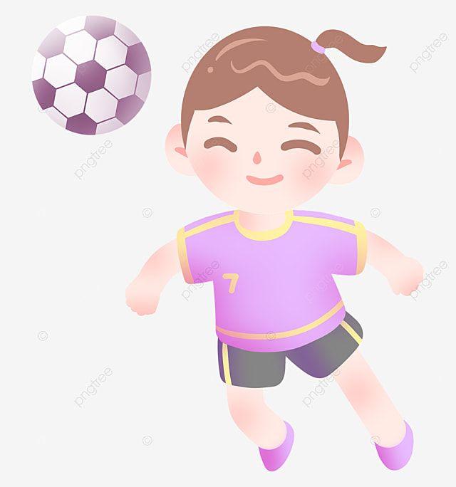 ภาพประกอบ น กฟ ตบอล การ ต นสาวเตะบอล ก ฬาฟ ตบอลภาพ Png และ Psd สำหร บดาวน โหลดฟร ภาพประกอบ กราฟ ก ก ฬา