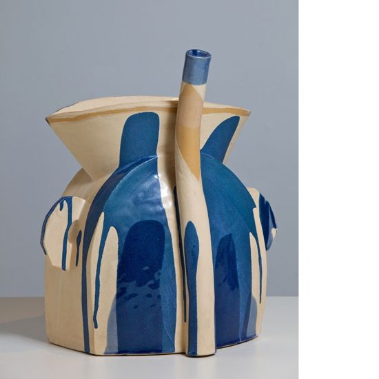 MARSDEN WOO GALLERY presents Alison Britton  		spacer 	    Alison Britton  Alison Britton is a leading British potter with an international reputation. A significant figure among the generation of innovative British ceramicists that emerged during the 1970s, her distinctive hand-built and expressively painted pots can be found in major public and private collections internationally including the Victoria and Albert Museum, London, Royal Museum of Scotland, Edinburgh, National Museum of…