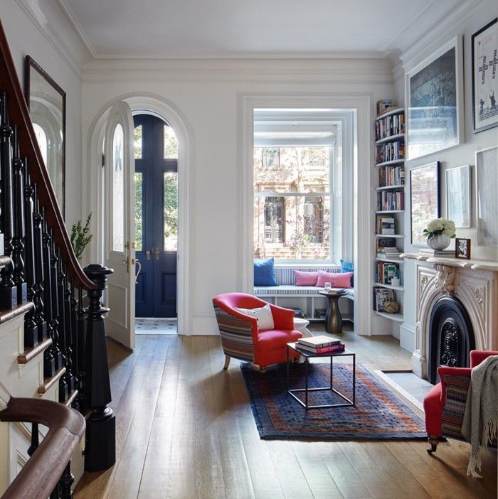 Lang Architecture, Drew Lang, Carroll Gardens townhouse, Brooklyn brownstone  ~ Great pin! For Oahu architectural design visit http://ownerbuiltdesign.com