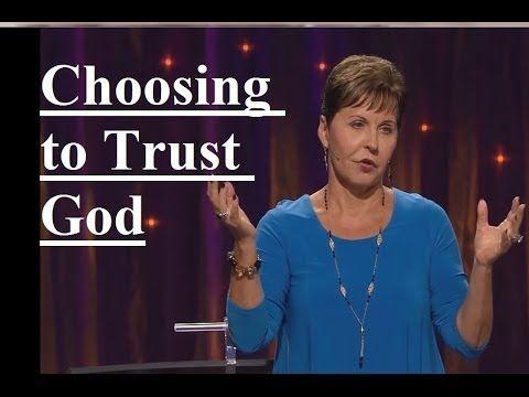 Joyce Meyer - Choosing to Trust God Sermon 2019 - YouTube