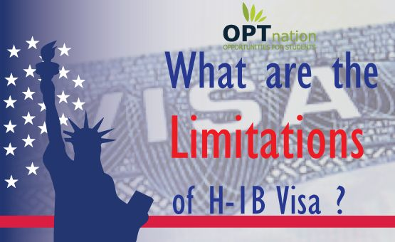 H1B is a temporary work visa in US for foreigners. With benefits but it does have H1B visa limitations and restrictions. Read it here and know more on H1B visa latest news..