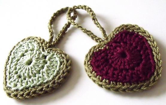 Tutoriel de coeur - modèle de crochet libre