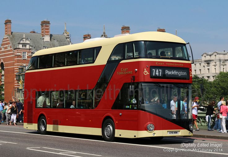 New Routemaster, East Yorkshire Motor Services                              …