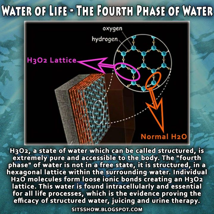 Stillness in the Storm : The Water of Life | H3O2 the Healing Power of 'Structured' Water - What Is The Fourth Phase of Water?