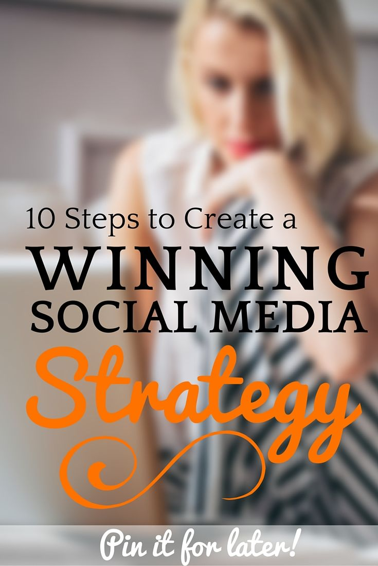 10 steps to build a winning social media strategy from a top social media strategist. Full of actionable tips and ideas for you to use.