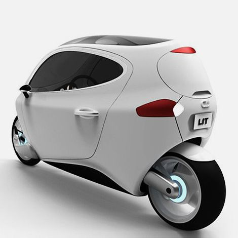 Lit Motors aims to revolutionise personal transportation with the C-1: a fully-electric, self-balancing, two-wheeled vehicle, available in 2014
