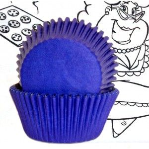 Goldas Kitchen Baking Cups - Solid - Blue - Standard Golda's Kitchen