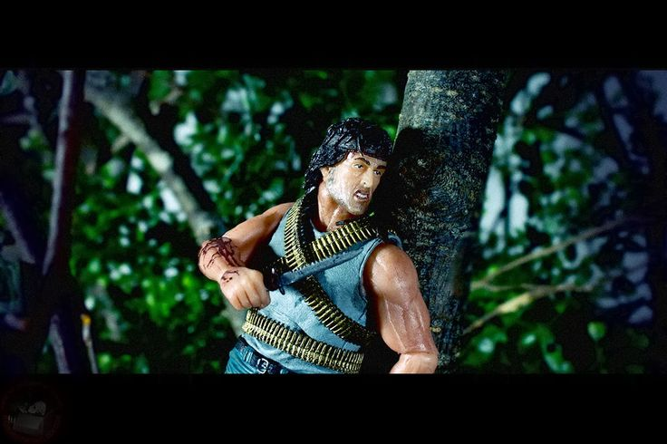 Rambo Series 1 action figure from NECA.