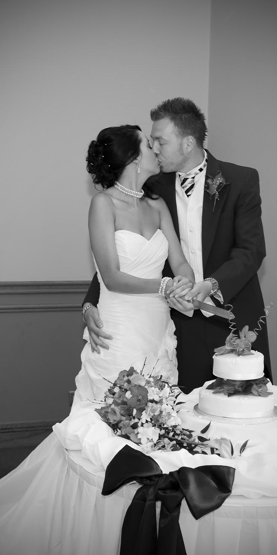 Couple at Stormont Wedding