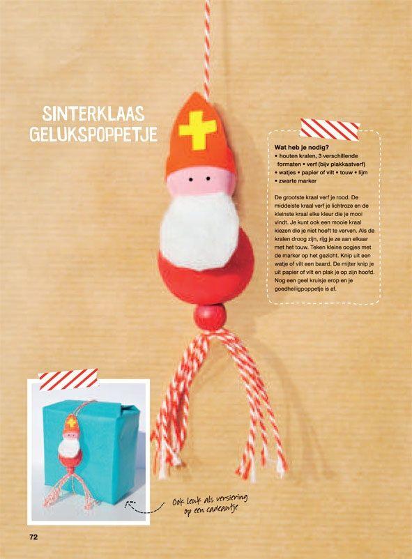 Sinterklaas Gelukspoppetje!