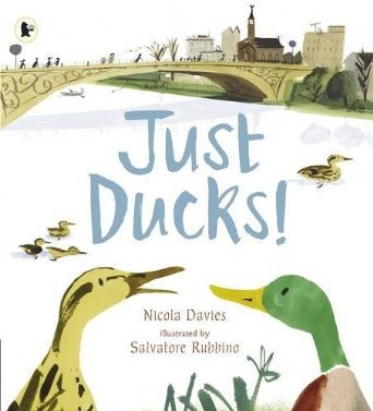 Just Ducks! book review. Perfect for teaching little ones about the nature around us.
