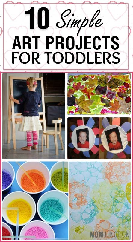 As a mom you would like to keep your toddler occupied with some fun art projects to learn and develop a love for art. Find 10 fun art projects for toddlers.