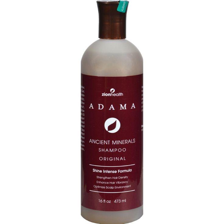 Zion Health Adama Clay Minerals Shampoo - 16 Fl Oz