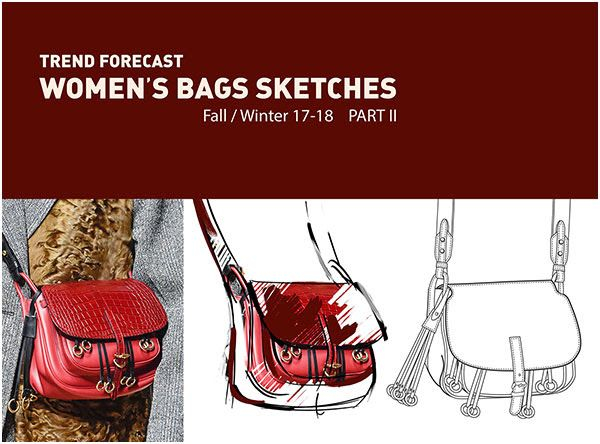 TrendForecast: WOMEN'S BAGS SKETCHES - part II