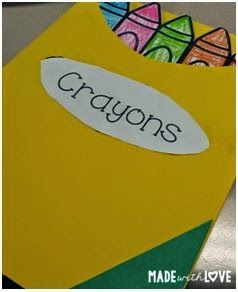 The Day the Crayons Quit craftivity