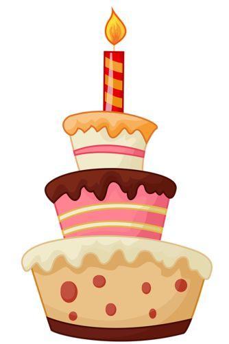 unique birthday cake clip art