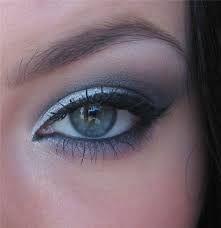 Макияж для серо-зелено-голубых глаз